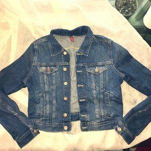 Cute Cropped Jean Jacket H&M